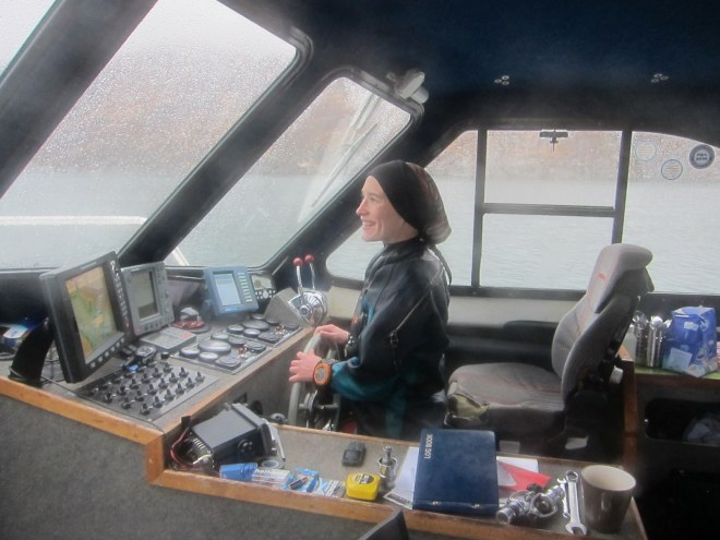 Laure attempts to create a new wreck in the Sound of Mull