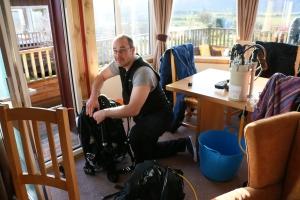 usual rebreather diver pre-dive fuf