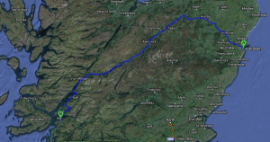 Aberdeen To Oban - The Snow Route