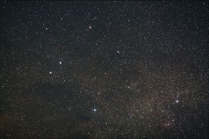 the Crux or Southern Cross - photo courtesy of Wikipedia