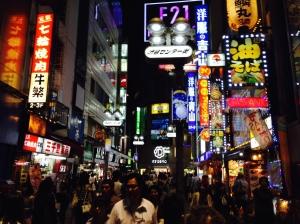 Shinjoku by Night